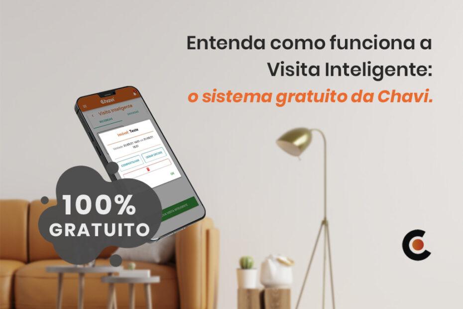 Visita Inteligente: conheça o software 100% gratuito da Chavi, que permite autorizar acessos para condomínios de forma prática e segura via smartphone.